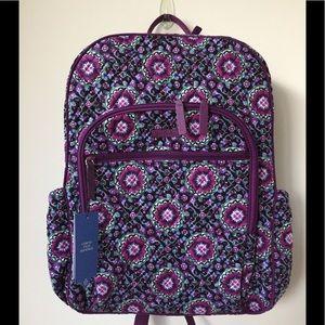 Vera Bradley campus tech backpack laptop backpack